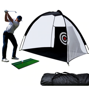Golf Practice Hitting Net For Backyard Golf Practice Net Black - Shopptique