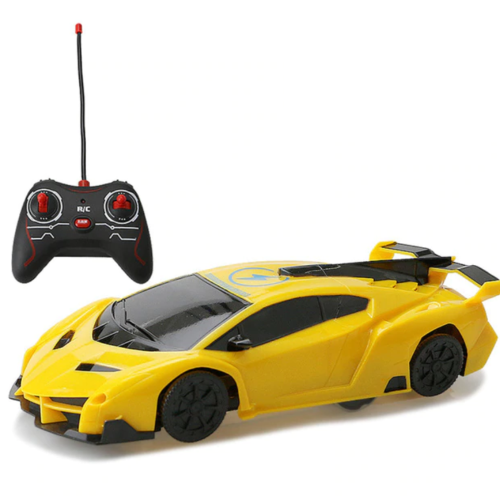 Wall Climbing Anti Gravity RC Car Yellow - Shopptique
