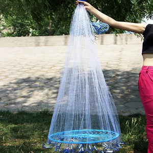 Premium Cast Fishing Seine Throw Net 7.8ft - Shopptique