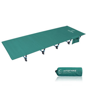 Portable Folding Camping Cot Sleeping Bed Green - Shopptique