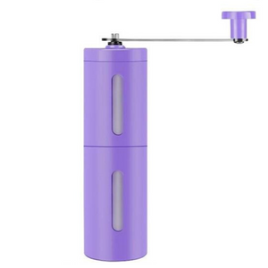 Manual Coffee Bean Mill Hand Grinder Purple - Shopptique