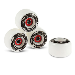 Soft Skateboard Cruiser Wheels Black - Shopptique