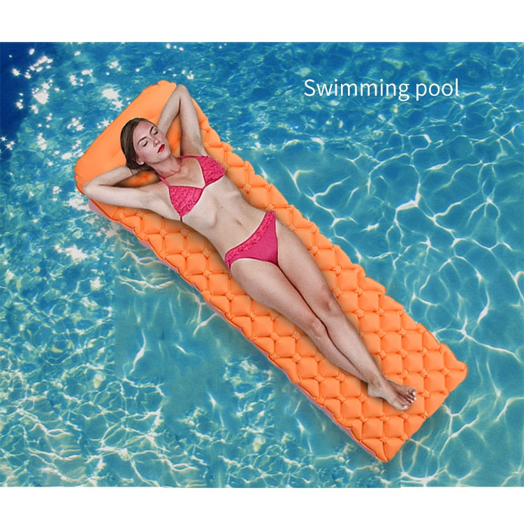 QuickSleep Premium Sleeping Mat Orange - Shopptique