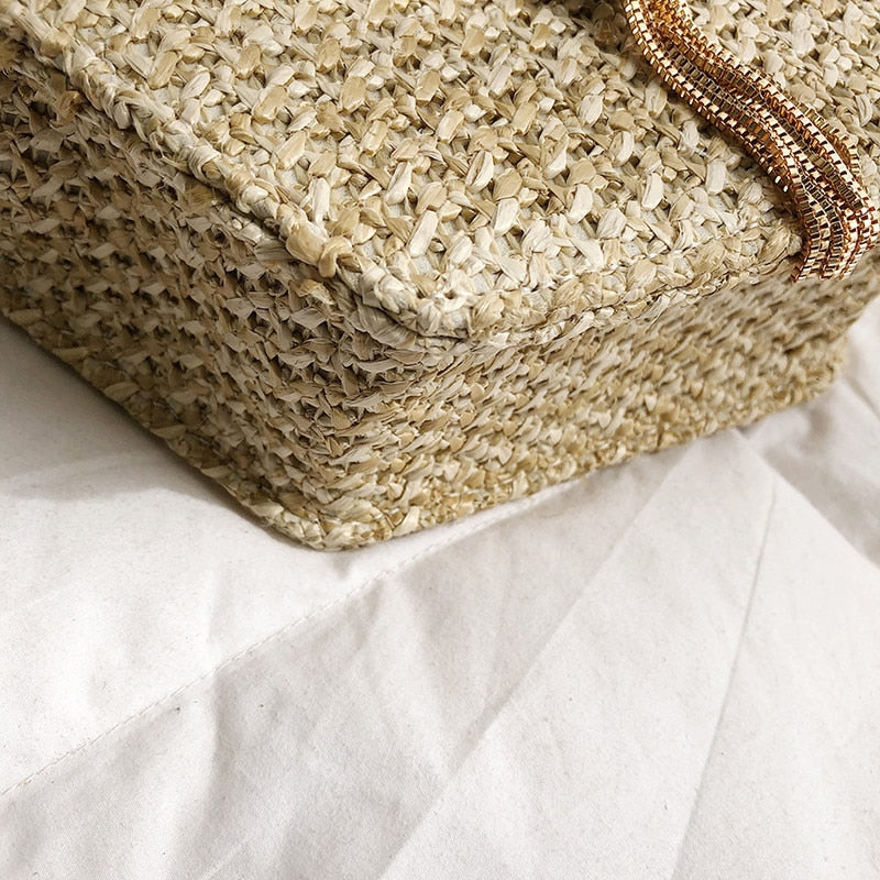 Handmade Rattan Crossbody Bag - Shopptique