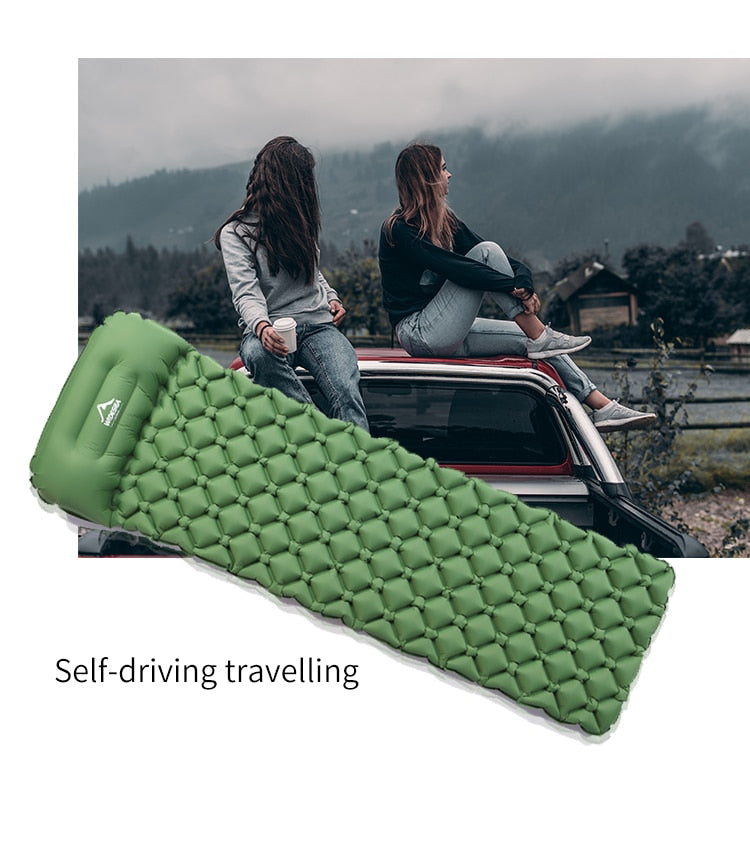 QuickSleep Premium Sleeping Mat Green - Shopptique