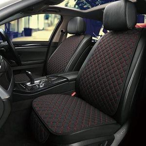 Auto Car Universal Seat Protector Cover Set Black/Red - Shopptique
