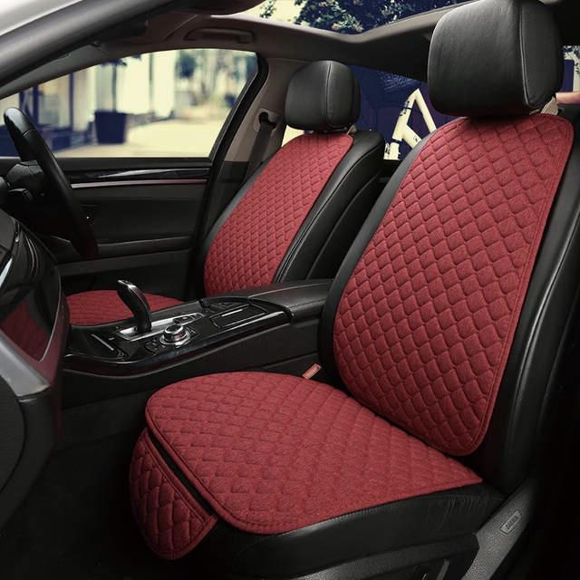 Auto Car Universal Seat Protector Cover Set Red - Shopptique