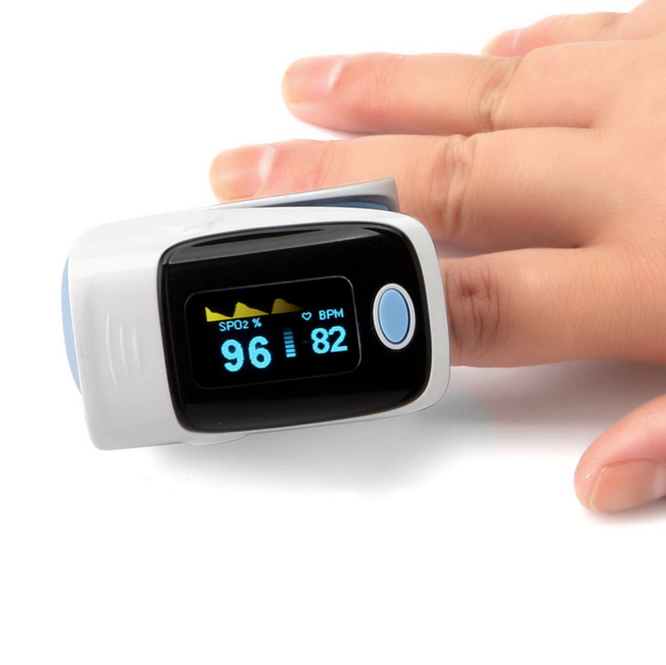 Premium Finger Blood Heart Rate Pulse Oximeter - Shopptique