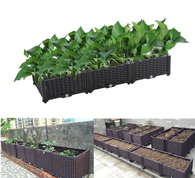 Raised Garden Planter Bed Elevated Box - Shopptique