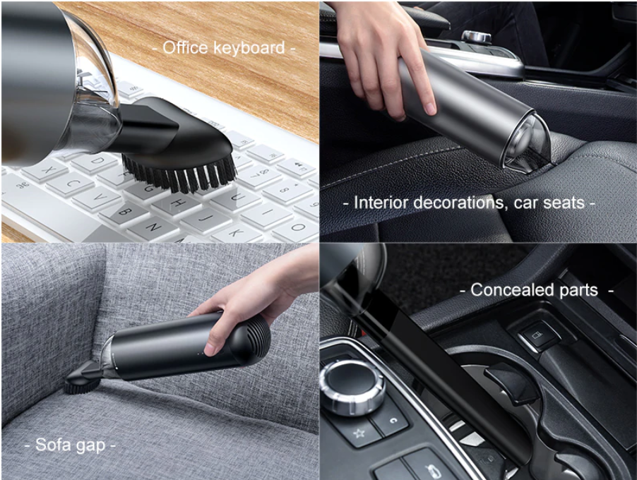 Cordless Portable Car Vacuum Cleaner Handheld - Shopptique