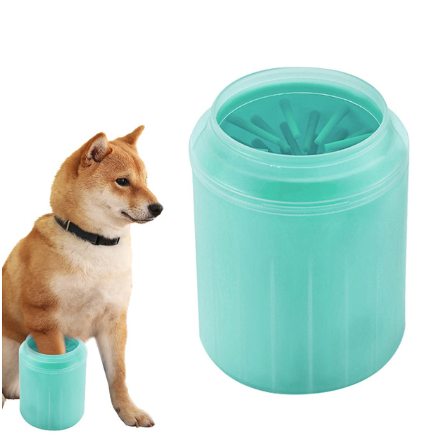 Dog Paw Cleaner & Foot Washer Green L - Shopptique