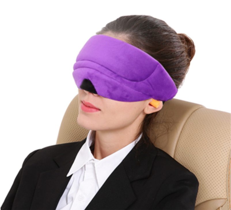 Premium Eye Cover Sleep Mask Purple - Shopptique