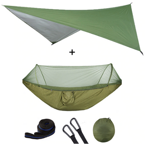 Premium Portable Camping Hammock With Mosquito And Bug Net - Shopptique