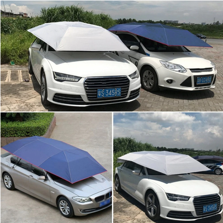 Heavy Duty Automatic Car Covering Canopy Tent Shelter - Shopptique