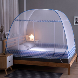 Premium Mosquito Bed Net Canopy Grey / L - Shopptique