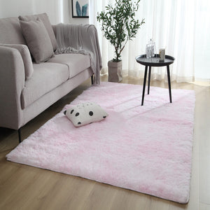 "Fluffy™ Super Soft Luxurious Carpet Shopptique Super Soft Faux Sheepskin Fur Area Rugs for Bedroom Floor Shaggy Plush Carpet Faux Fur Rug Bedside Rugs Light Pink / Small - 50cm X 80cm (20"" X 30"") - Shopptique"