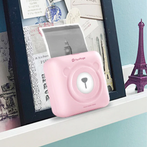 Wireless Portable Photo Printer For Smartphones Pink - Shopptique