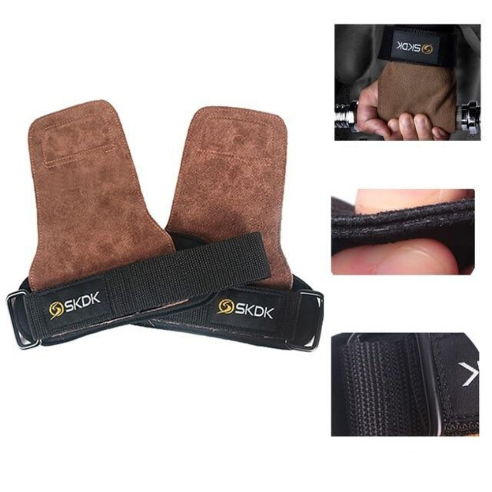 Best Workout Weight Lifting Gym Gloves Brown / Free Size - Shopptique