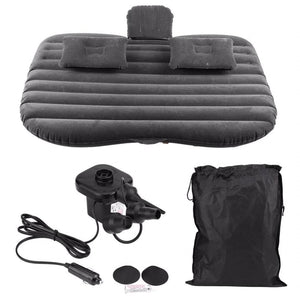 BedzyBay™ BedzyBay Inflatable Car Bed Air Mattress For Camping - Cab Bed Back Seat & Portable Travel Bad Black [Sold Out Fast] / United States - Shopptique