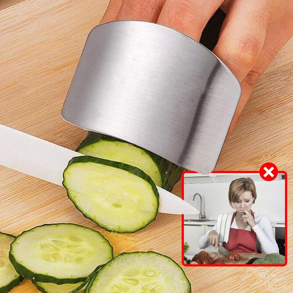 KitchenBuddy - 2PCs Finger Protector Guard in Kitchen Cutlery, Cutting board, Kitchen, Kitchen knife, Kitchen utensil, Kitchenware - Shopptique