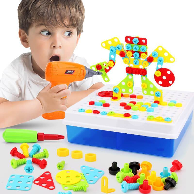 Design And Drill Educational Toys Design And Drill Educational Toys - Shopptique