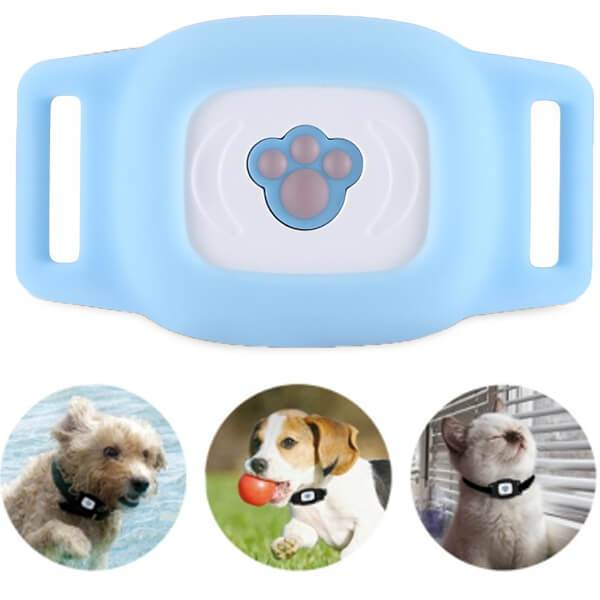GPS Cat Collar Anywhere Blue GPS Cat Collar Anywhere Blue - Shopptique
