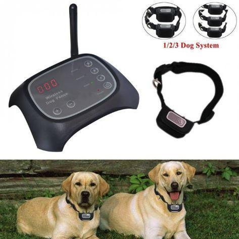Invisible Wireless Dog Fence With Collar Invisible Wireless Dog Fence With Collar - Shopptique
