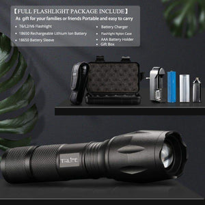 LED Flashlight – Rechargeable LED Torch Tactical Flashlight LED Flashlight – Rechargeable LED Torch Tactical Flashlight - Shopptique