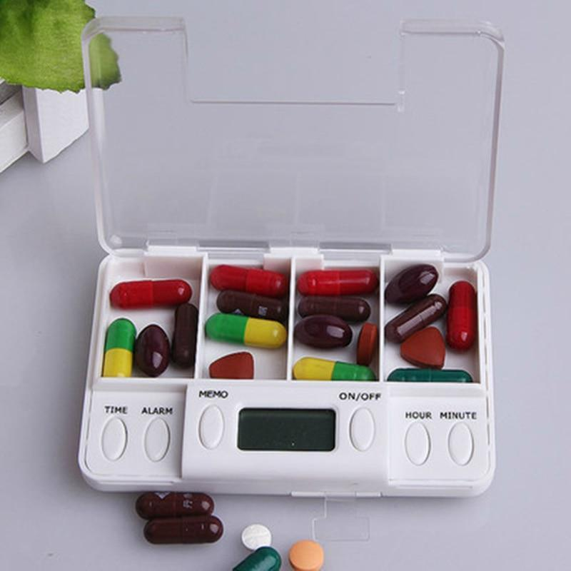 Smart Alarm Small Daily Pill Box Organizer - Shopptique