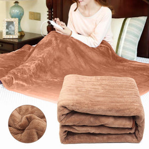 Portable Electric USB Heated Throw Blanket 59x29in - Shopptique