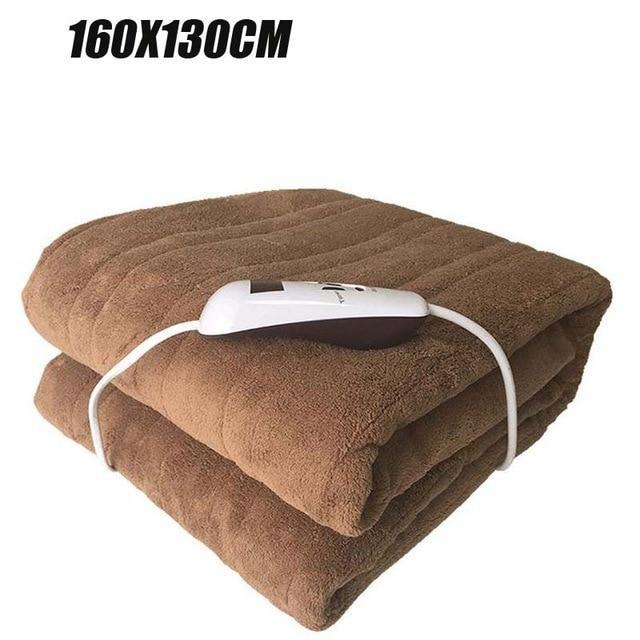 Portable Electric USB Heated Throw Blanket - Shopptique