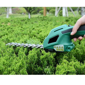 Premium Cordless Electric Hedge Trimmer Battery Powered - Shopptique