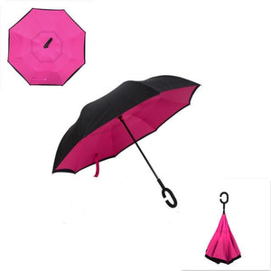 Upside Down Inverted Rain Umbrella - Shopptique