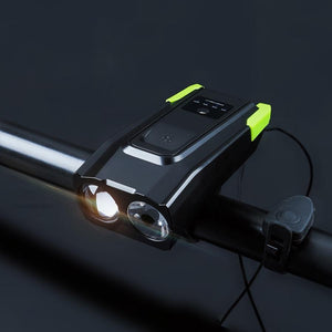 LED Bike Headlights 4000mAH Green - Shopptique