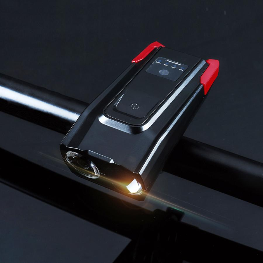 LED Bike Headlights 4000mAH Red - Shopptique