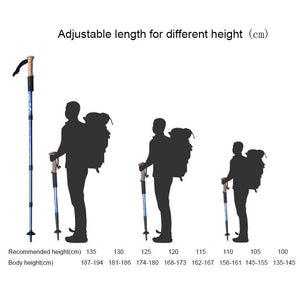 Collapsible Trekking Pole For Hiking - Shopptique