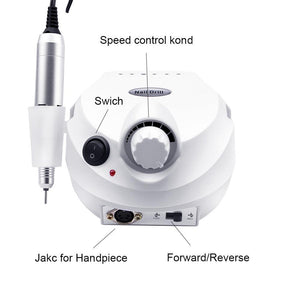 Professional Electric Nail File Drill Machine Kit - Shopptique