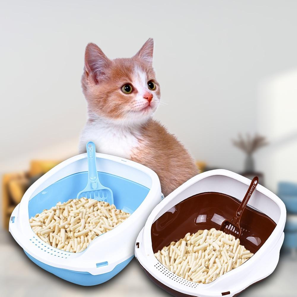 Kitty Cat Litter Box Small Corner Furniture - Shopptique