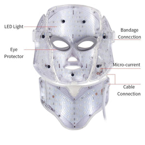 LED Light Therapy Acne Face Mask - Shopptique