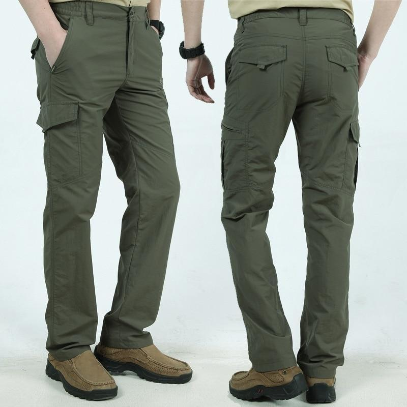 Tactical Waterproof Cargo Pants For Men - Shopptique