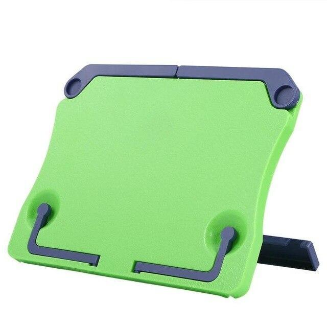 Portable Book Holder Desk Stand Green Book Holder - Shopptique