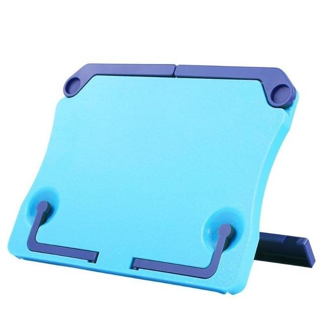 Portable Book Holder Desk Stand Blue Book Holder - Shopptique