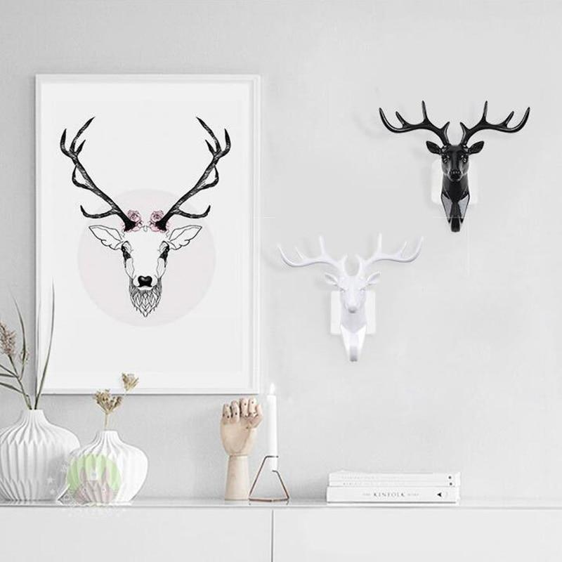 Deer Head Key Holder Hooks For Wall - Shopptique