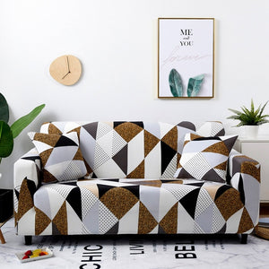 Premium Quality Stretchable Elastic Sofa Covers Premium Quality Stretchable Elastic Sofa Covers Color 3 / 4-seater - Shopptique