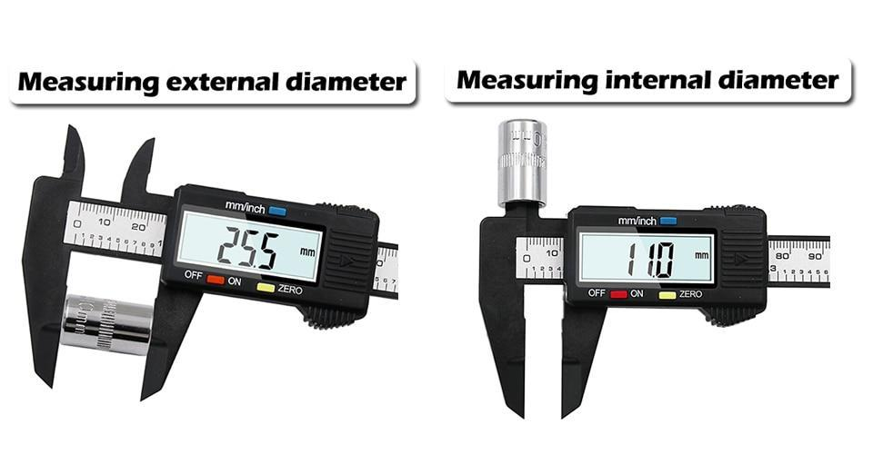 Digital Micrometer Measuring Caliper - Shopptique