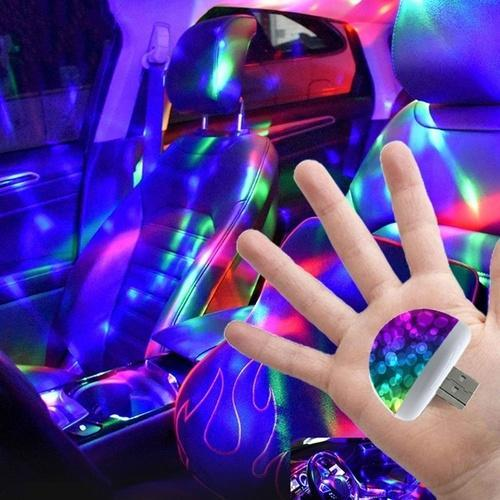 Interior Car LED Ambient Disco Atmosphere Light - Shopptique