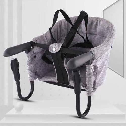 Portable Table High Chair Booster Eating Seat Gray Thick - Shopptique