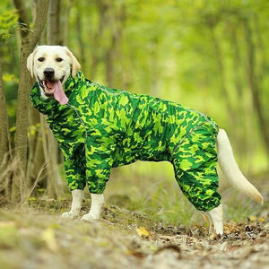 Premium Dog Raincoat Jacket Green Camouflage / 20 - Shopptique