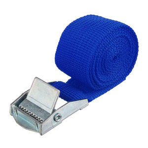 "1"" x 39"" Heavy Duty Ratchet Tie Down Cargo Straps Retractable Blue - Shopptique"