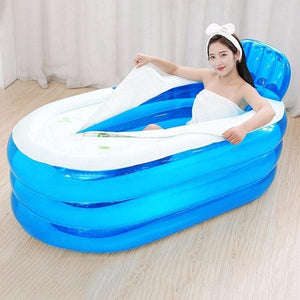 Portable Stand Alone Inflatable Bathtub For Adults Style 7 - Shopptique